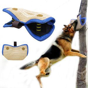Dog Bite Wedge Tug Sleeve Malinois German Shepherd Schutzhund Jute Training Tugs