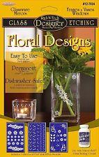 Armour Etch Designer Stencil, Pak Floral Designs - AMbx11K