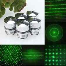 5 Style Converter Green Light Refraction Mini Laser Pen Beam Head Pointers*
