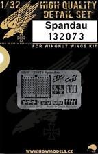 HGW 1:32 Spandau for Wingnut Wings - PE Detail Set #132073