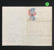 Civil War Letter to Levi (L.S.) Miller from his friend C.J. Horton - ... Lot 58