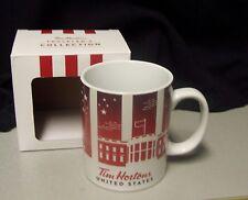 Tim Hortons UNITED STATES TRAVELER'S COLLECTION 2016 L/E Coffee Mug ....NIB