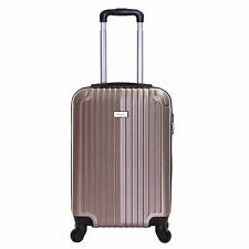 Slimbridge Borba 55 Cm Hard Cabin Approved Spinner Suitcase Champagne