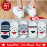 5 pair Women Men Socks Casual Work Heart-shaped Cotton Fashion Love Girls S P0J4