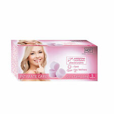 Pharmacie Intime Tampons Soft Intimate Care Boîte de 5 - HOT