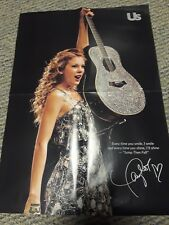 Taylor Swift Us Weekly Jump Then Fall 15''x21'' Collectable Pullout Guitar Poste