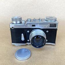 Leningrad 35mm Rangefinder Film Camera W/ Jupiter 50mm F2 (Ussr) Vintage, Nice