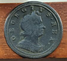 1719 George I Great Britain British Half Penny Half Cent Foreign Coin Lot D69