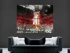 LEBRON JAMES NBA BASKETBALL SLAM DUNK USA SPORT  POSTER PRINT LARGE HUGE