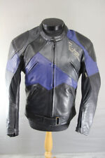 RICHA LEATHER BIKER JACKET WITH THERMAL LINING & KNOX CE BACK PROTECTOR 42 INCH