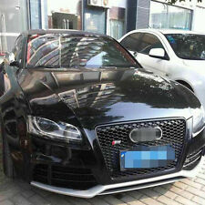 Front Mesh Grill Grille for Audi A5 S5 Sline RS5 2008-2011 To RS5 Style Black