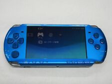 F644 Sony PSP 3000 console Vibrant Blue Handheld system Japan x