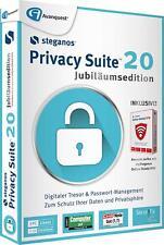 Steganos Privacy Suite 20 inkl. VPN CD/DVD Version für 5 PC EAN 4023126119940