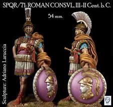 Alexandros Models Roman Consul II Cent. BC 54mm Model Unpainted Kit LARUCCIA