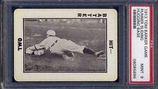 1913 Tom Barker Game RUNNER SLIDING HUGGING BASE - PSA 9 - LOW POP 5