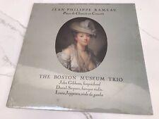 """Factory Sealed BOSTON MUSEUM TRIO """"Rameau - Pieces de Clavecin en Concerts"""" LP"""