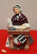 "8"" Royal Doulton Schoolmarm Figurine Hn 2223 Antique 1957 Woman School Teacher"