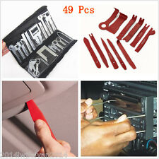 49 pc Car Trim Dash Panel CD Radio Audio Stereo GPS Removal Install Key Pry Tool
