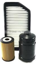 AIR OIL FUEL FILTER KIT suits HYUNDAI i30 1.6L TURBO DIESEL GD | 3/2015->3/2017