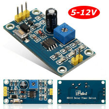 DC 5-12V Delay Relay Shield Timer NE555 Switch Module 0 to 150 Second Adjustable