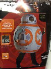 STAR WARS COSTUME BB-8 Inflatable child Dress Up Cosplay NIP