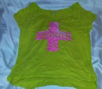 Hollister - Women's Women Top Green Sleeveless Size Medium M - Vintage Shirt