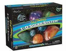 3D Solar System Glowing Planets Space Universe Great Explorations
