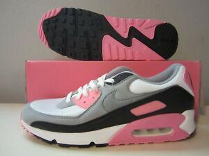 (CD0881 101) NIB Nike Air Max 90 RECRAFT white/rose pink sz 11.5 Mens $120 retro