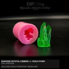 Epoxidharz Silikonform DIAMOND CRYSTAL ICEBERG SIZE L Gießform Epoxy Resin Mold