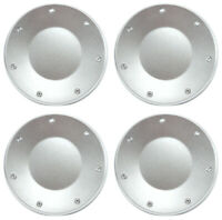 """SET of 4 NEW Silver 16"""" Wheel Hub Center Caps for 2003-2004 Cadillac CTS"""