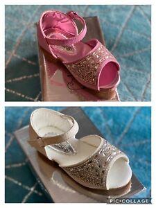 Kelsi Infants girls gem style glitter sandals