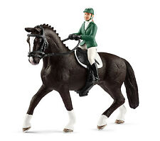 Schleich 42358 Show Jumper with Hanoverian Horse Toy Model 2017 - NIP
