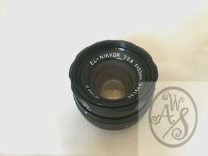EL-NIKKOR 50mm f/2.8 Enlarging Lens by Nikon for 35mm negatives - Excellent USED
