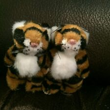 """Boyds Bears """"Zeiggy and Roary Tigertooth"""" - Noah's Ark Tigers"""