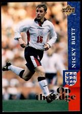Upper Deck England 1998 - On the Edge Nicky Butt # 66
