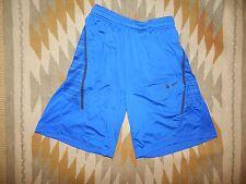"Nike Dri Fit ~ M ~ Royal Blue ~ Athletic Shorts w 9.5"" Inseam"