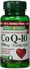 Natures Bounty Co Q-10 400mg, 39 Rapid Release Softgels