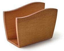 Acacia Wood Napkin Holder Modern Kitchen Decor Napkins Storage Table Top Stand