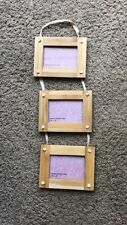 3 Wooden Hanging Picture Frames (by Urban Outfitters)