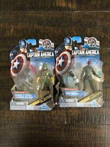 "Marvel Legends 3.75"" Hydra Soldier Variant, Red Skull Captain America Movie Line"