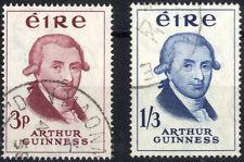 Pre-Decimal Elizabeth II (1952-Now) Used Irish Stamps