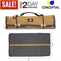 Roll Up Tool Pouch Wrench Socket Bag Hand Tool Slot Organizer Large 23 Pockets