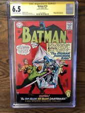 Batman #174 (9/65) CGC 6.5 signed by Joe Giella! OW/W pages! Great book!