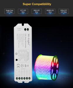 Mi-Light LS2 5in1 RF 2.4G RGBW RGB+CCT RGBWW LED Controller Dimmer WiFI WLAN APP