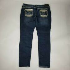 MAURICES Womens Embellished Jeggings Skinny Jeans Size XL