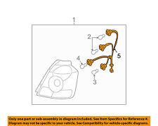 Chevrolet GM OEM Aveo Taillight Tail Light Lamp Rear-Socket & Wire 96499311