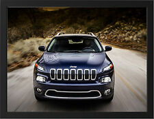 2014 JEEP CHEROKEE NEW A3 FRAMED PHOTOGRAPHIC PRINT POSTER