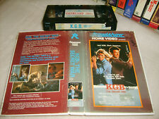 VHS *KGB: THE SECRET WAR (1985)* RARE Australian Roadshow Video - 1st/Only Issue