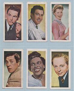 Trade Cards - Telegum TV Stars (Merrysweets Ltd.) - Complete Set