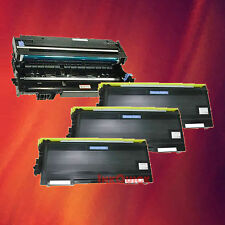Toner Cartridge TN-570 & Drum DR-510 for Brother 4 Pack